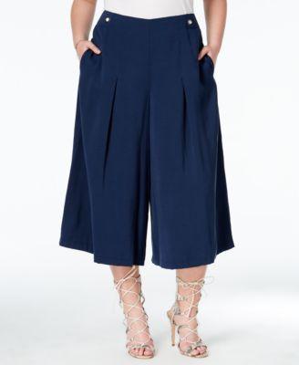 e1b9006860a2b RACHEL Rachel Roy Curvy Plus Size Gaucho Pants