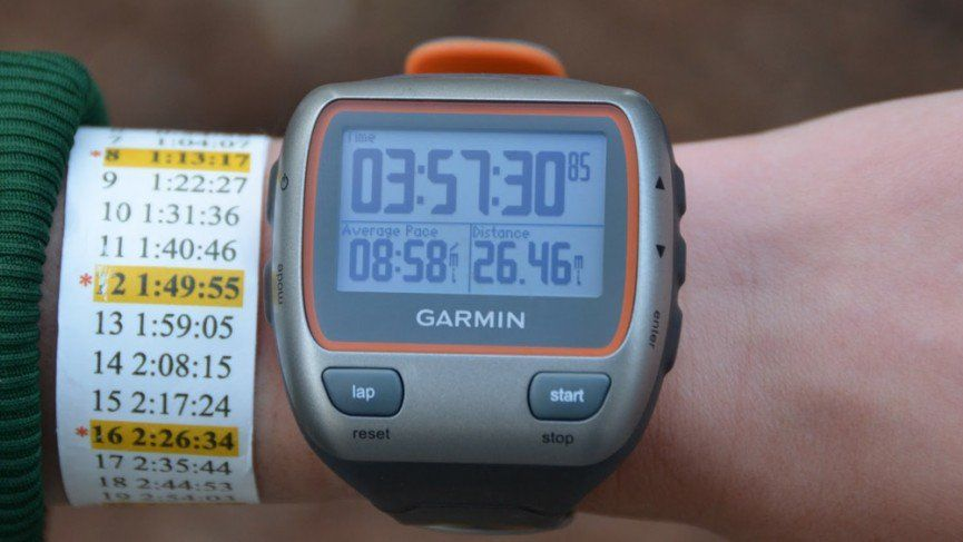 How to use your running watch to earn your marathon PB