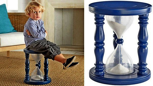 Time Out Chair Hourglass