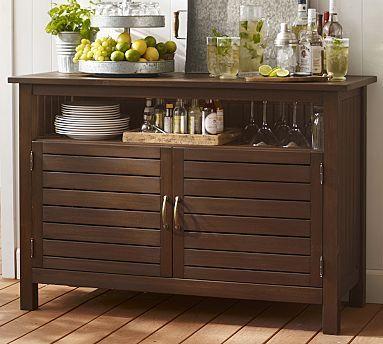 8 Outdoor Buffet Ideas Wooden Cooler, Outdoor Sideboard Cabinet
