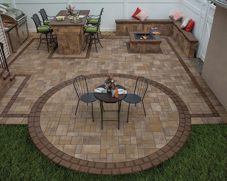 Design Gallery Cambridge Pavingstones - Outdoor Living Solutions with ArmorTec