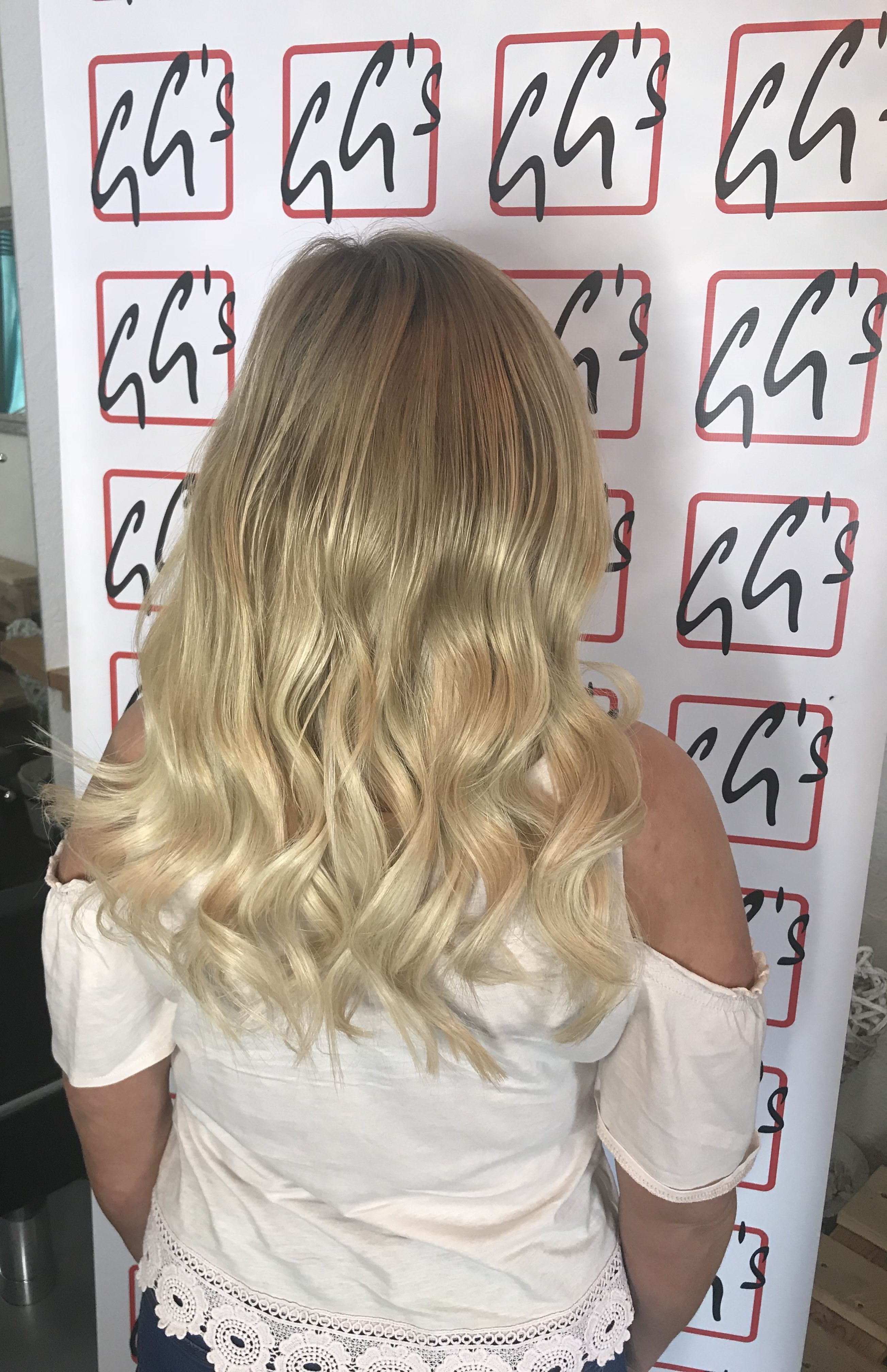 Lovely Blonde 14 Weave Fitted Today Ggssalon Hair Supplied By