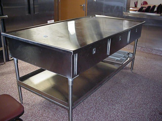 Stainless Steel Kitchen Prep Table 4