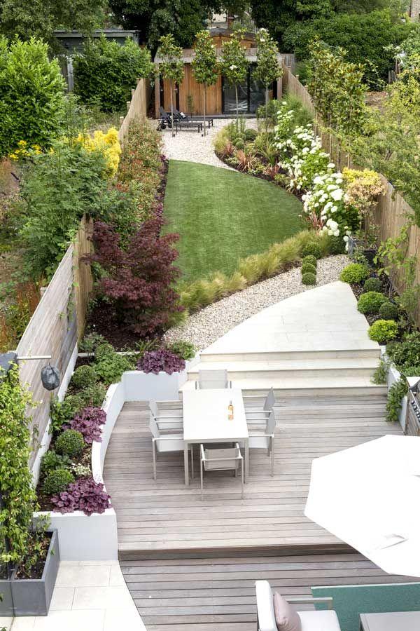 Back Garden Design in Friern Road, London, by Kate Eyre