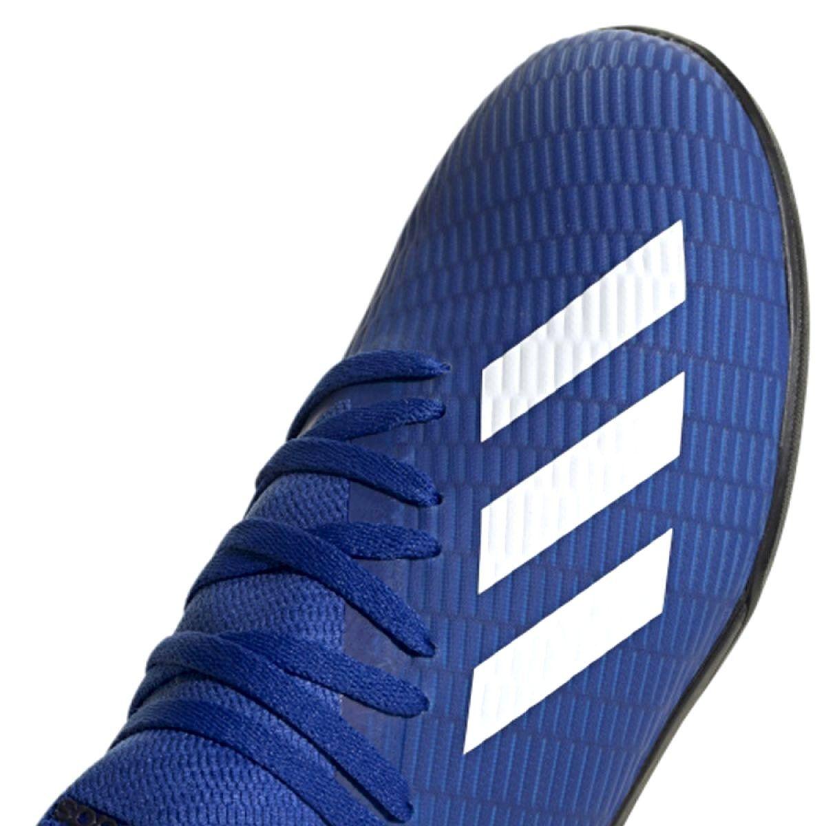 Buty Pilkarskie Adidas X 19 3 Tf Jr Eg7172 Niebieskie Niebieski Buty Adidas I Niebieski