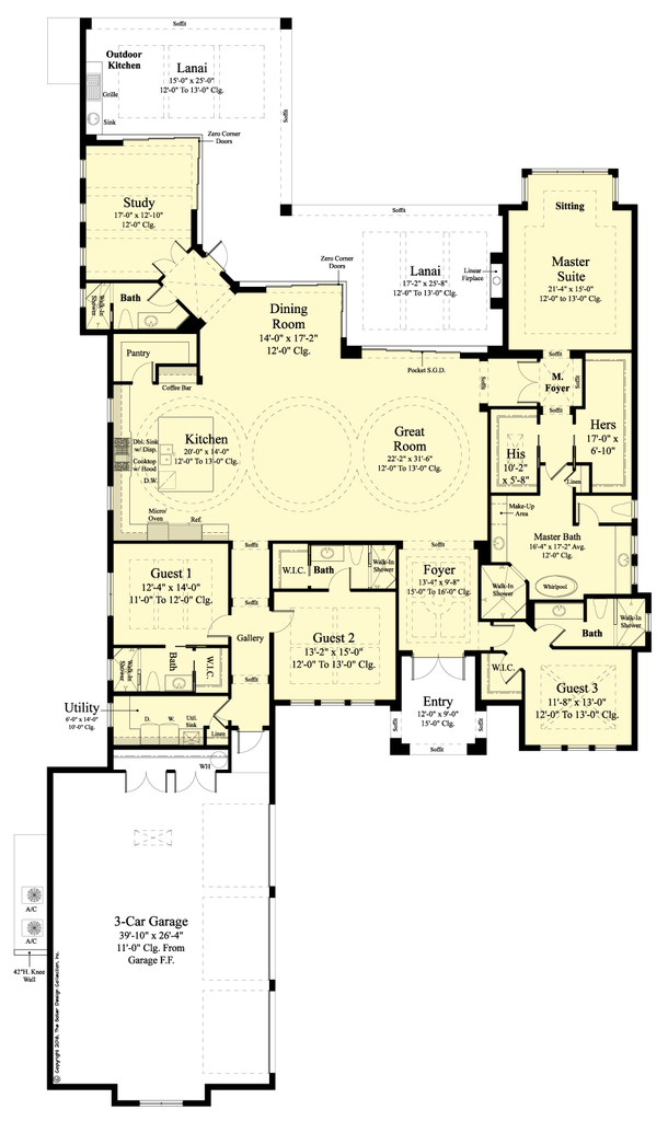 Mansfield House Plan Contemporary House Plans House Plans New House Plans