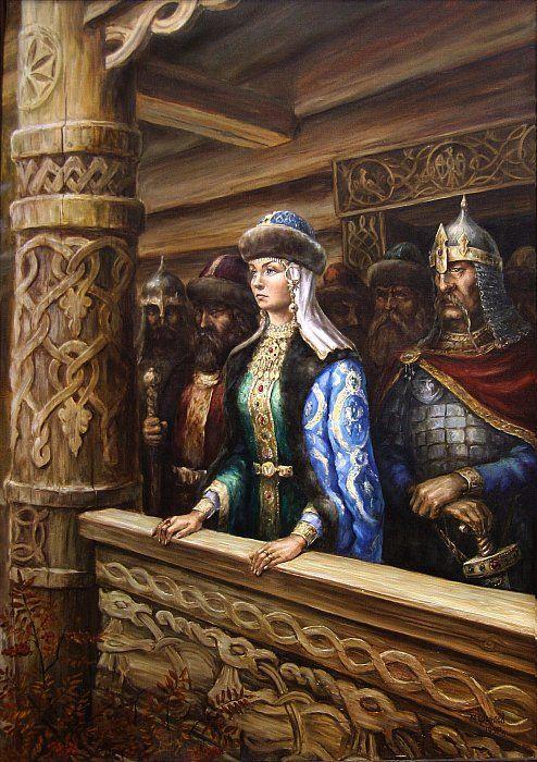 Княгиня Ольга ~ Щрилёв Михаил | Артклуб Gallerix