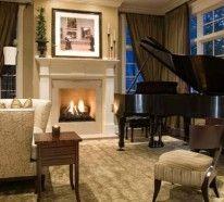 wohnzimmer m bel wenn das klavier dazu z hlt 15 beispiele das perfekte haus pinterest. Black Bedroom Furniture Sets. Home Design Ideas