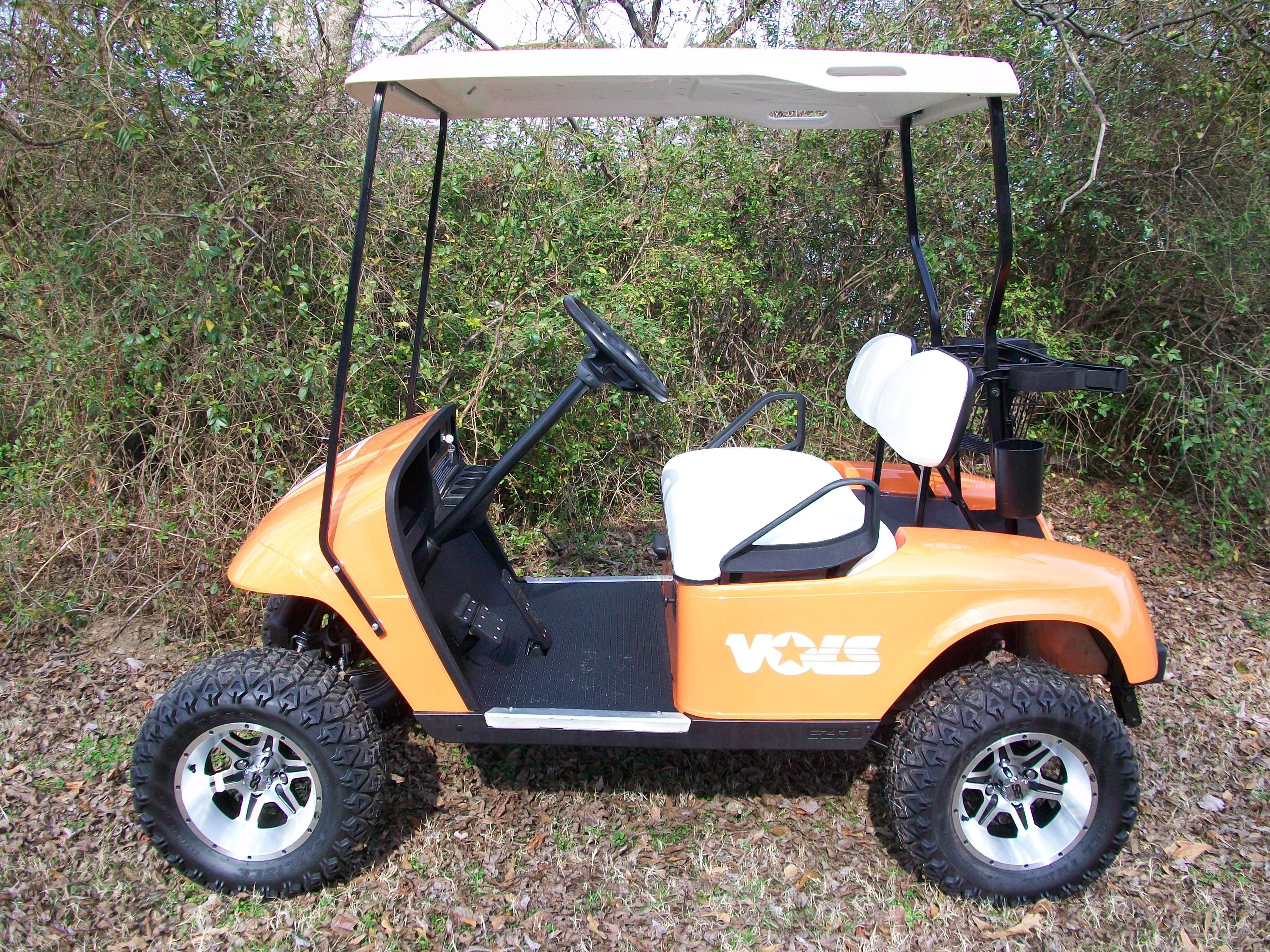 Tennessee Volunteers cart www.jencogolfcarts.com | Go Team Go ... on