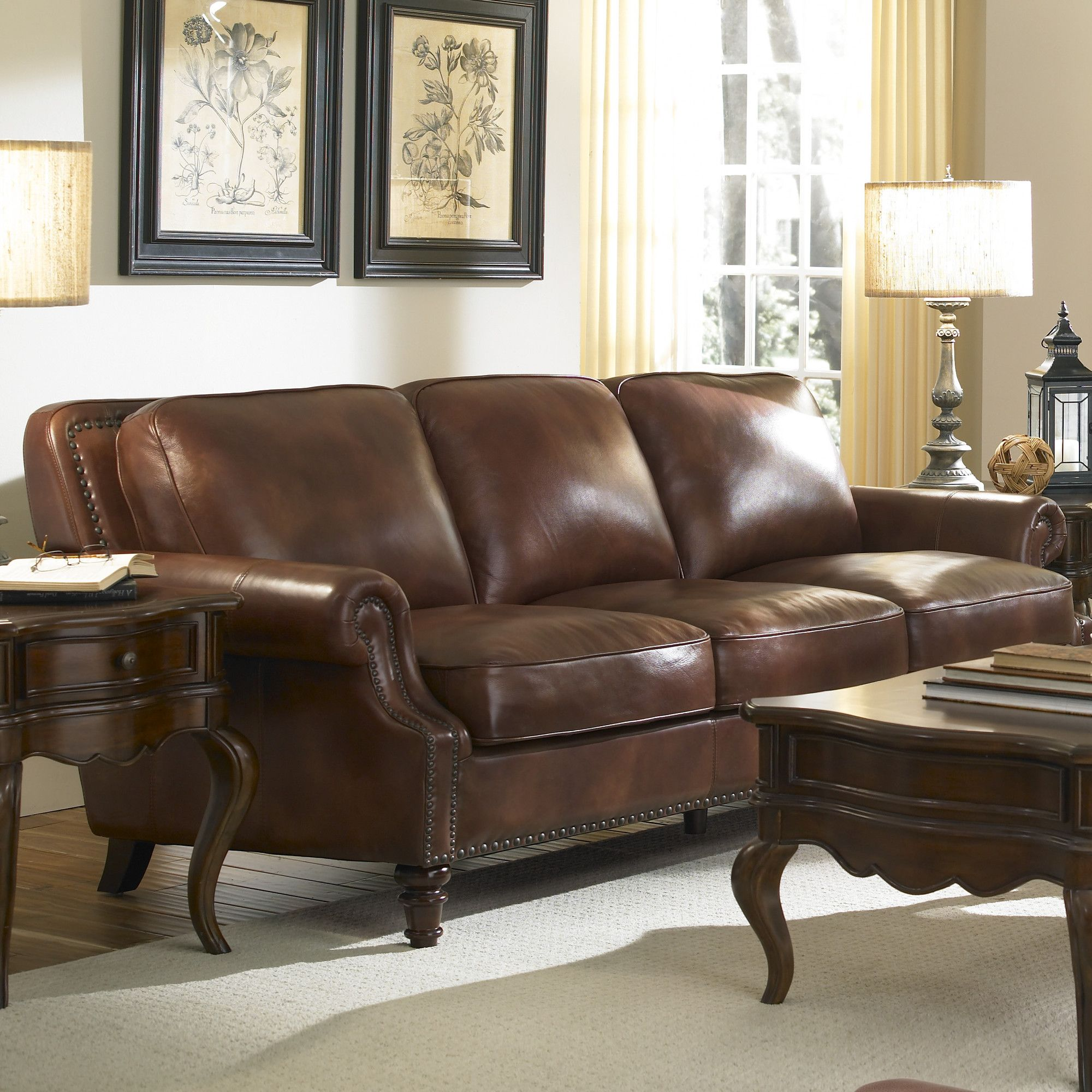 Lazzaro Leather Leather Sofa U0026 Reviews | Wayfair