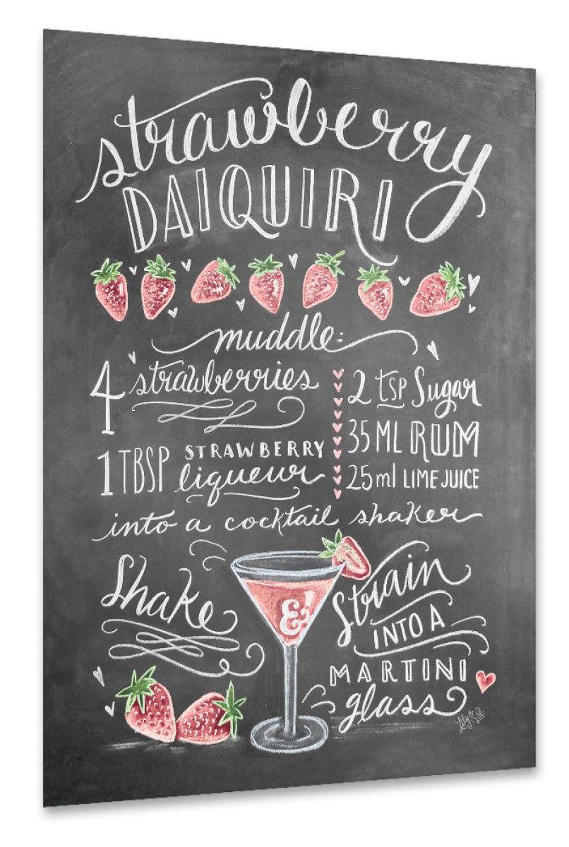Bezaubernd Strawberry Daiquiri Rezept Dekoration Von Zum Cocktail