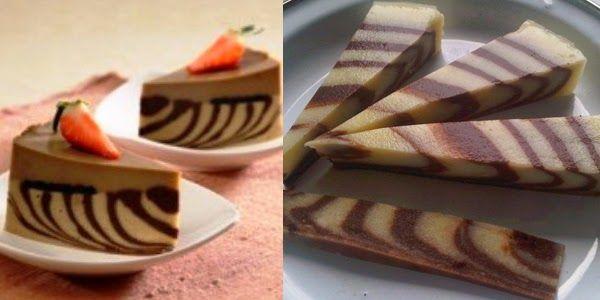 Resep Membuat Puding Zebra Dan Cara Membuat Traditional Cakes Food Foodie