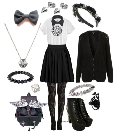 Pin by Chiara Pana on || Cute Clothes✨ || | Kpop outfits