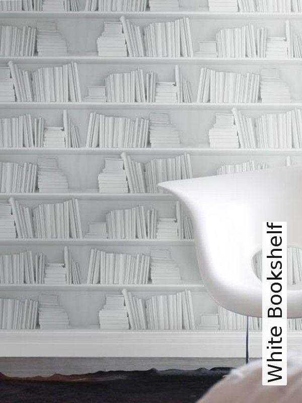 Tapete White Bookshelf Tapetenagentur De Bucherregal Weiss Bucherregal Ideen Tapeten