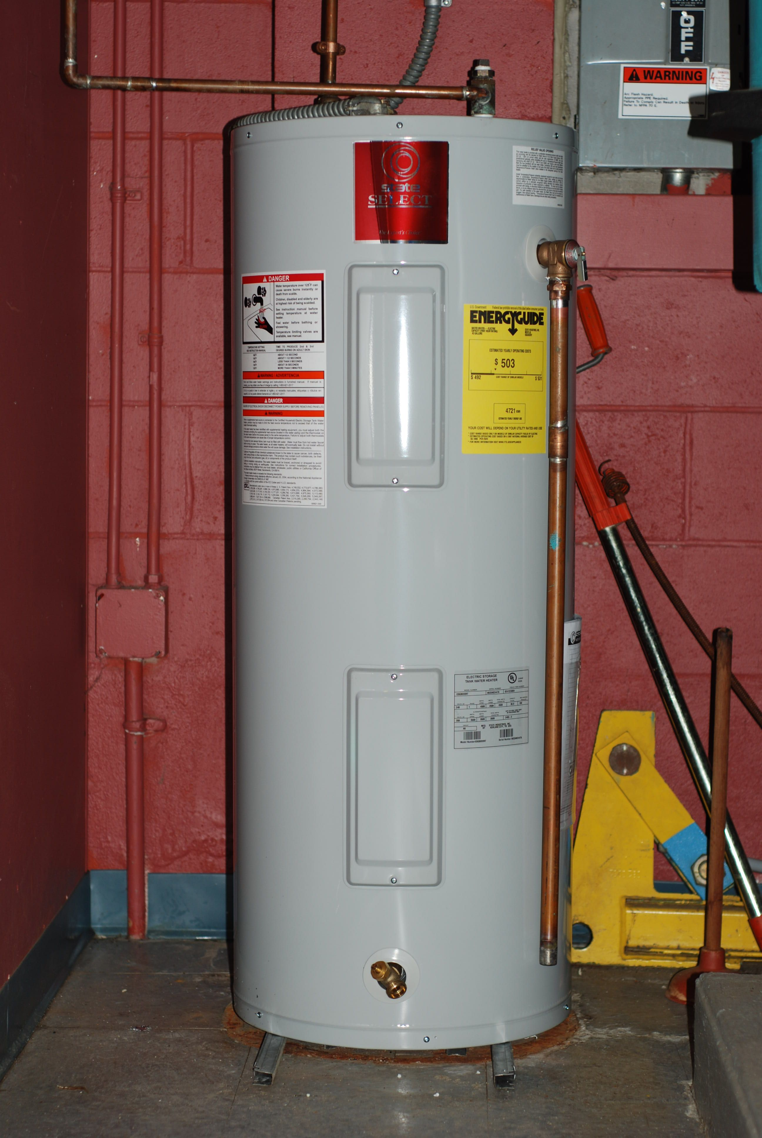 How To Get Emergency Drinking Water From A Water Heater Water Heater Water Heater Repair Electric Water Heater
