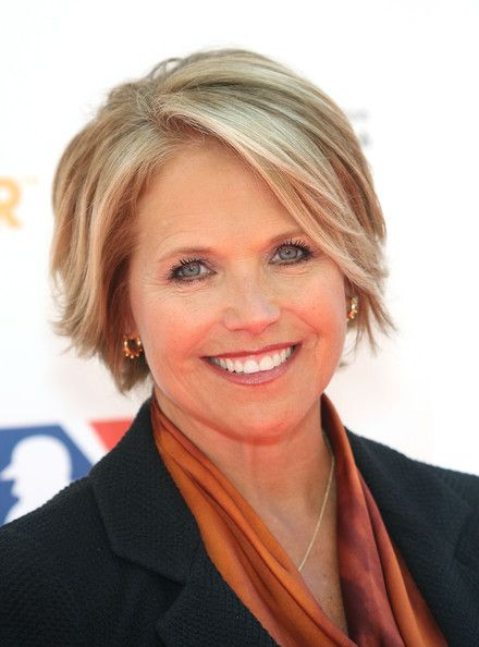 Stand Up To Cancer Arrivals Katie Couric Hair Style And Haircuts