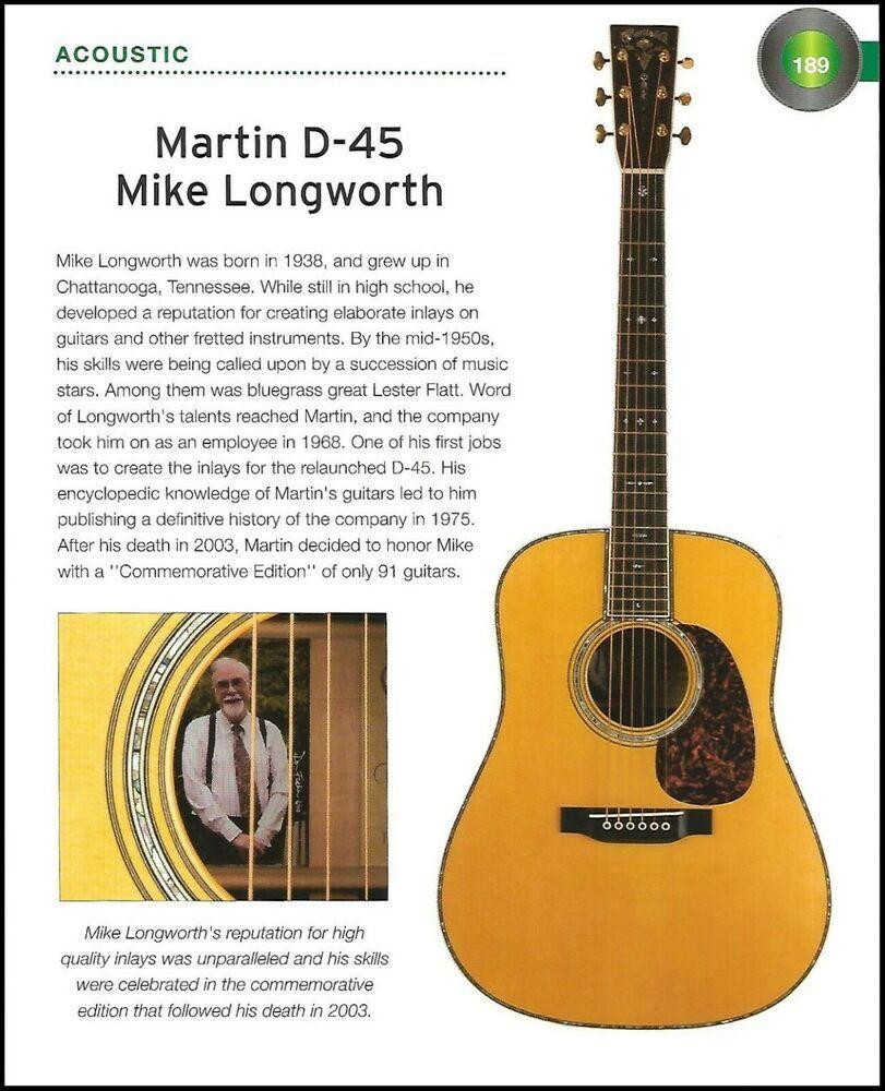 Martin D 45 Mike Longworth Little Martin Lx1e Acoustic Guitar History Article Martin Martin Acoustic Guitar Guitar History Articles