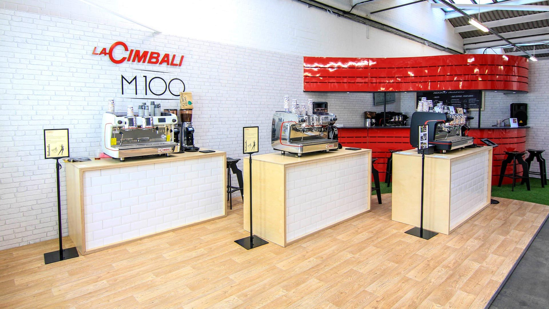 Exhibition Stand Coffee : La cimbali trade stand for london coffee festival by liqui