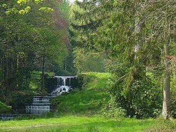 Water cascade Harewood House