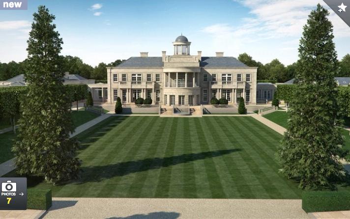Proposed 42,000 Square Foot Estate In Surrey, England