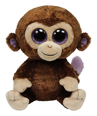 Another great find on #zulily! Coconut the Monkey Beanie Boo #zulilyfinds