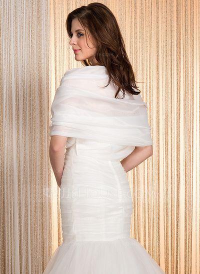 7f80aecc2923 Half-Sleeve Organza Wedding Wrap (013036973)   fashion   Pinterest ...