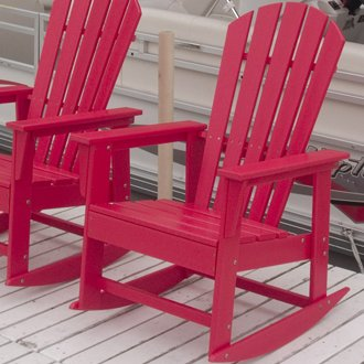 Polywood South Beach Plastic Resin Adirondack Chair In 2020