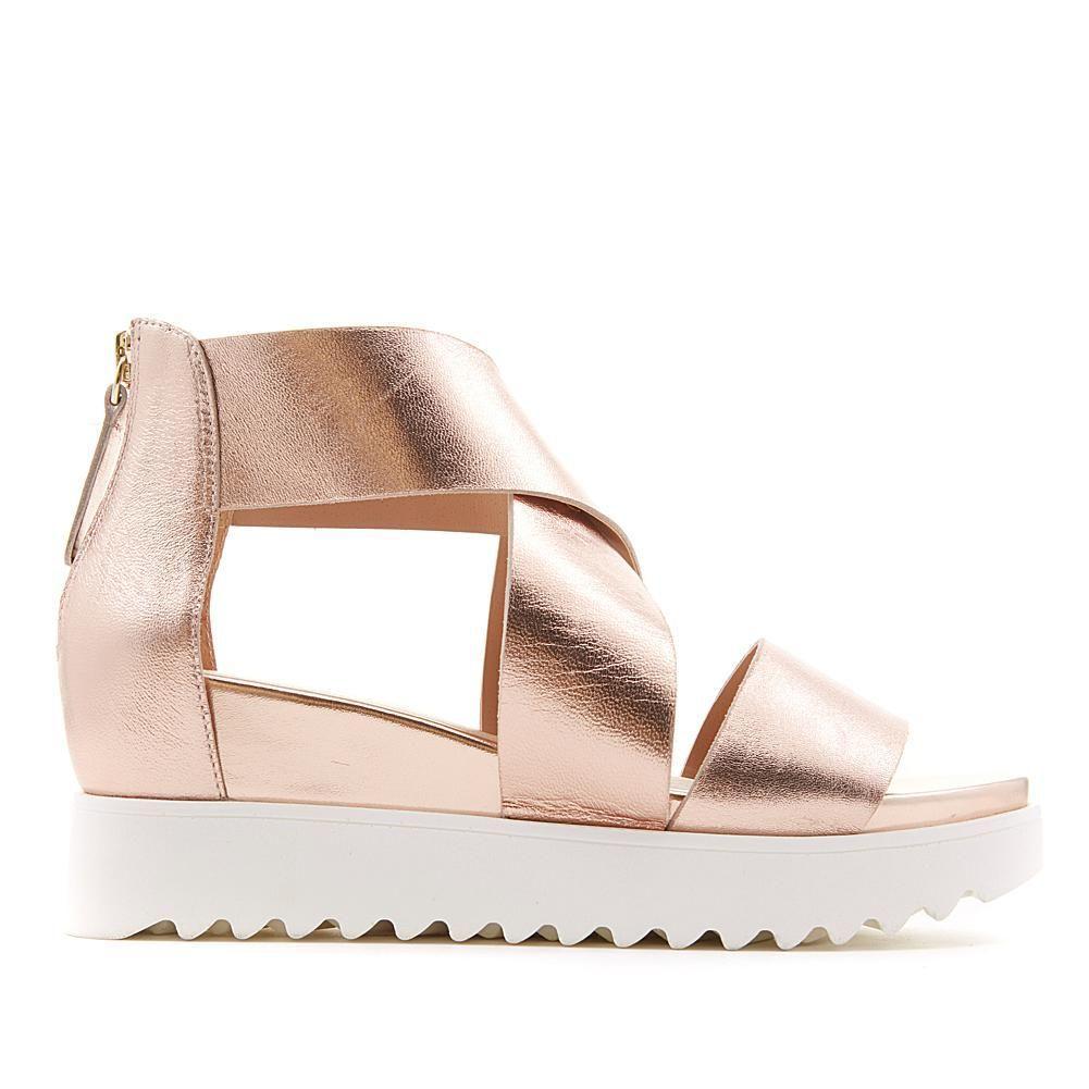 2c724990993 Steve Madden Steven Natural Comfort Kea Leather Platform Sandal -