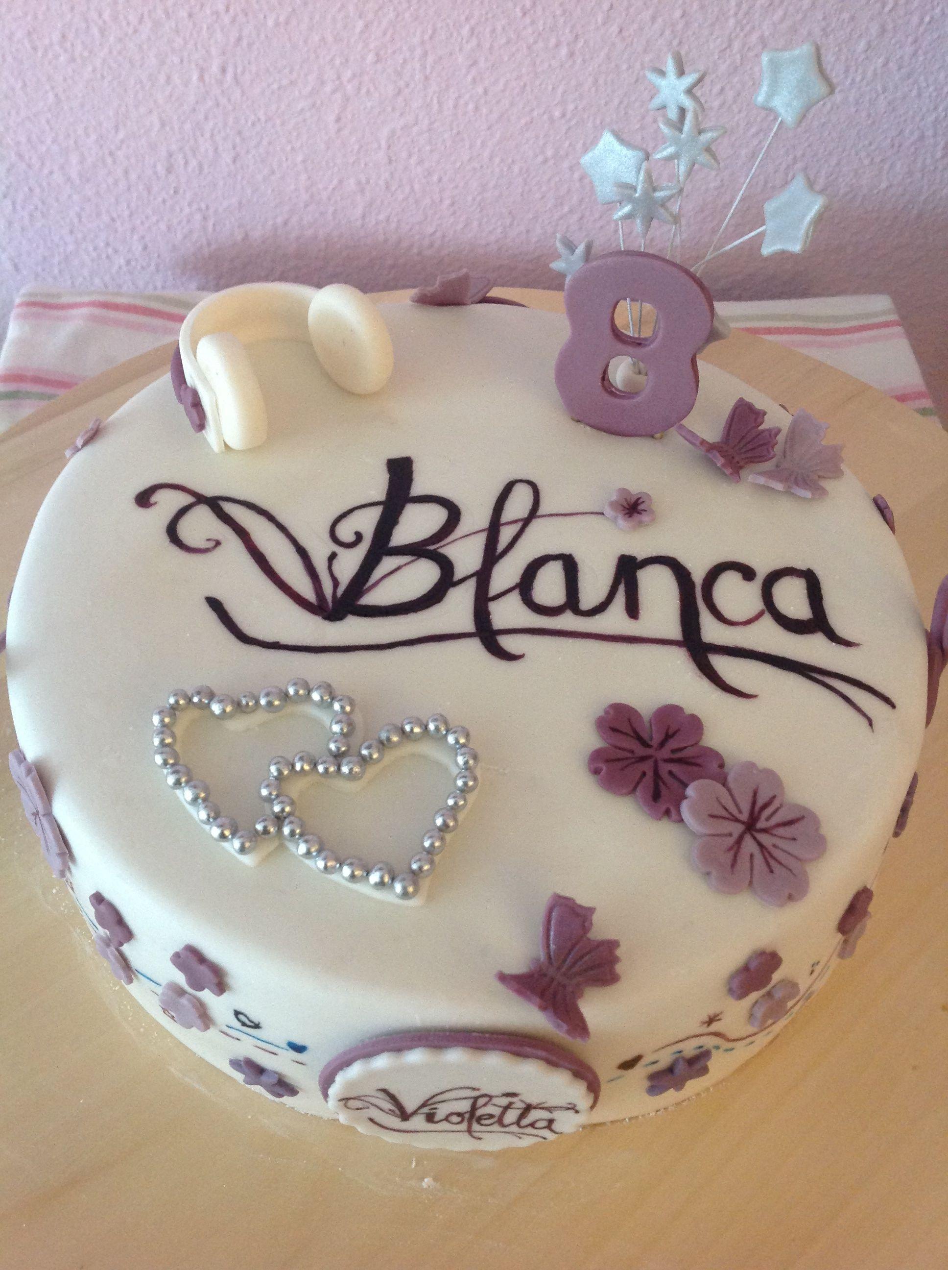 Violetta S Cake Mein 10 Geburtstag Violetta Torte Madchen Torte