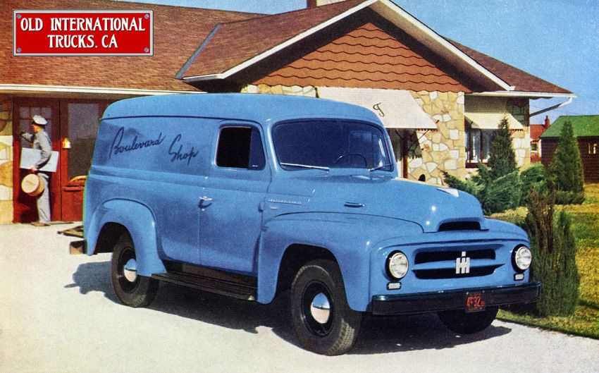 super clean 1953 international r 110 panel truck we keep the 1955 International Pickup Parts super clean 1953 international r 110 panel truck we keep the international harvester truck name alive at ihgear with a great collection of