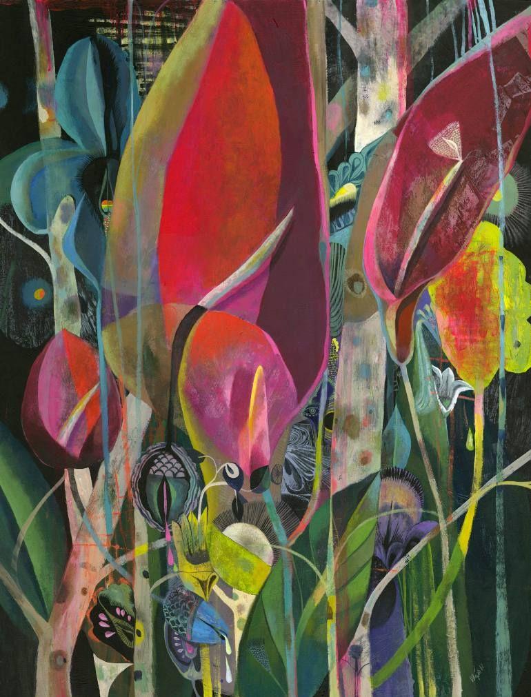 """Saatchi Art Artist olaf hajek; Painting, """"Lost paradise"""" #art"""