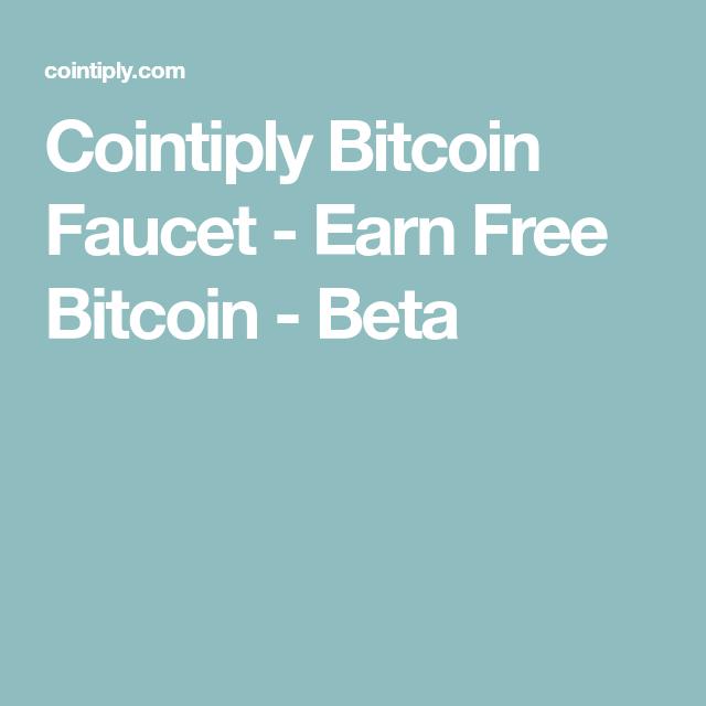 Cointiply Bitcoin Faucet - Earn Free Bitcoin - Beta | Free