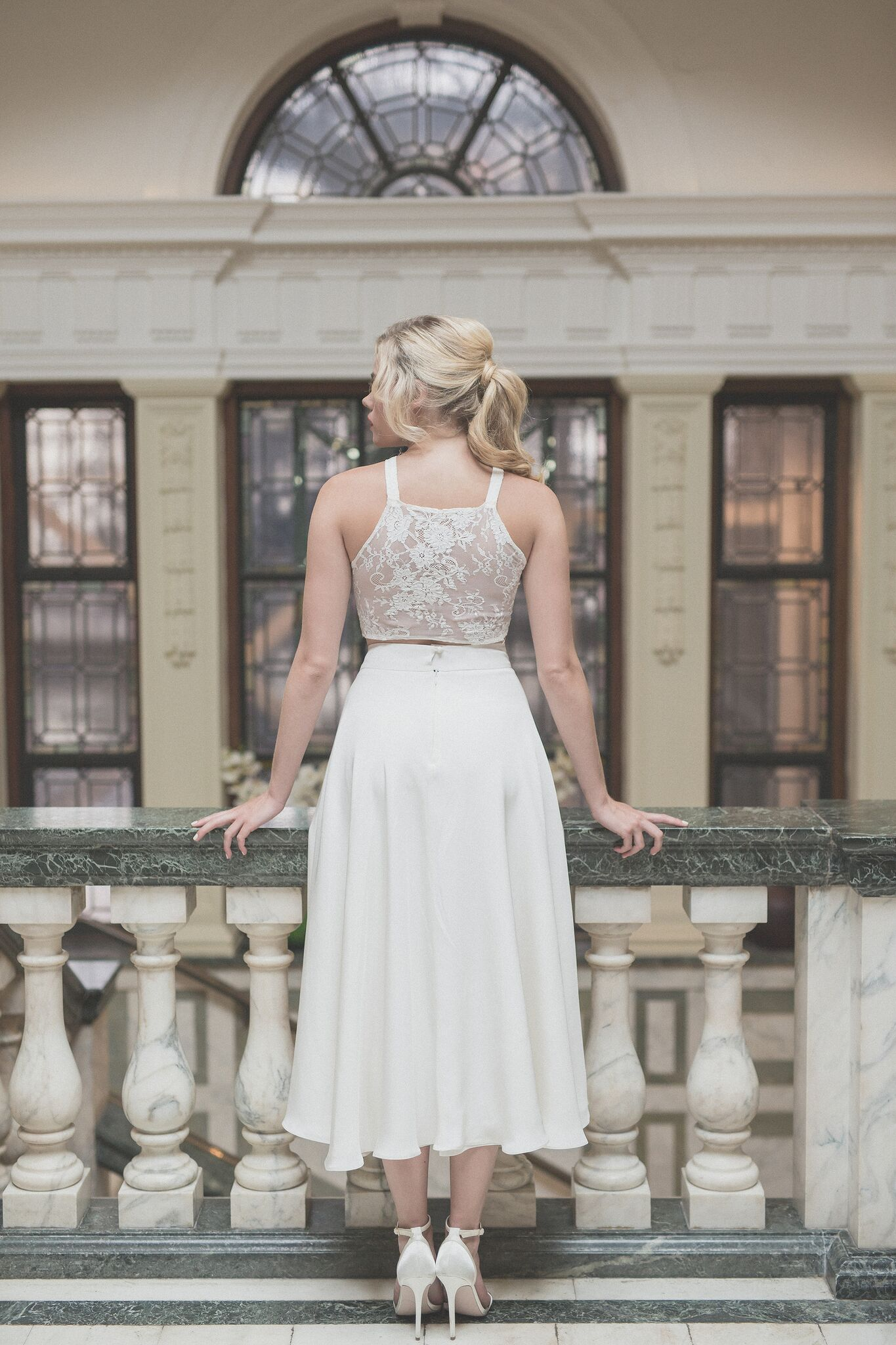 Ditch the traditional wedding dress for your registry for Dresses for registry office wedding