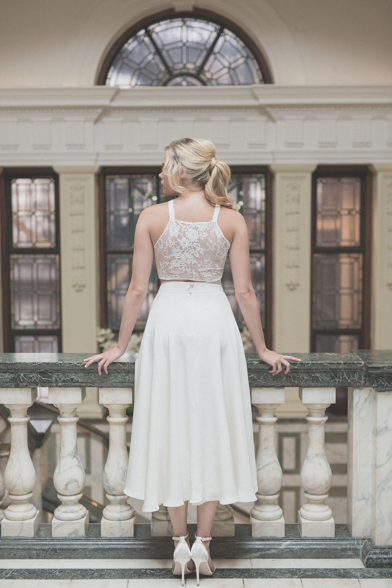 Thomas Skirt | Registry office wedding, Bridal separates and ...