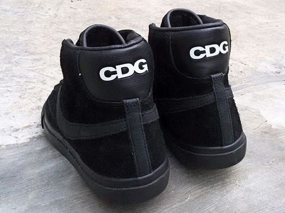 Comme des Garcons x Nike Blazer High SP
