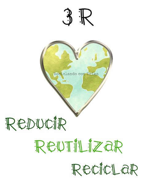 Reducir Reutilizar y Reciclar en nuestras manualidades