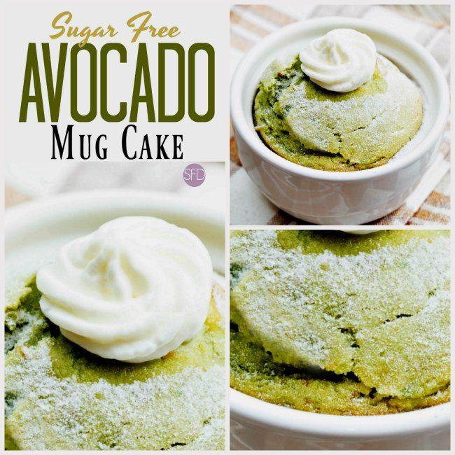 Enjoy thisEasy and Yummy Sugar Free Avocado Mug Cake ...