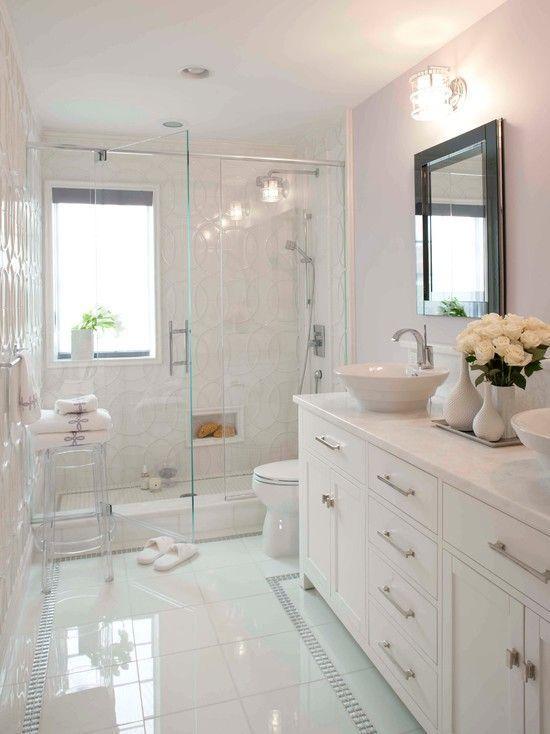 40 Best Bathroom Renovation Ideas Future Home Ideas Bathroom Future Home Ideas Renovation Bathroom Decor In 2019 Bathroom Interior Modern White Bathroom Small Bathroom