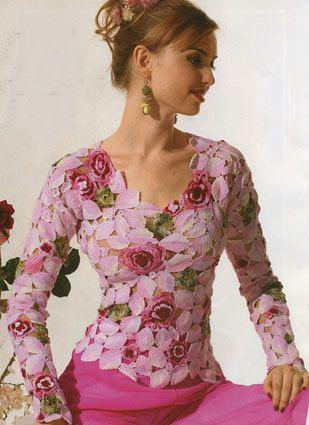 Imagen Descubierto Por Rosa Monteiro Descubre Y Guarda Tus Propias Imagenes Y Videos En We Heart It Irish Lace Crochet Irish Crochet Crochet Fashion