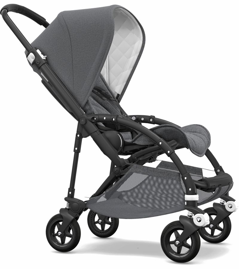 Bugaboo Bee5 Classic Complete Stroller Black/Grey