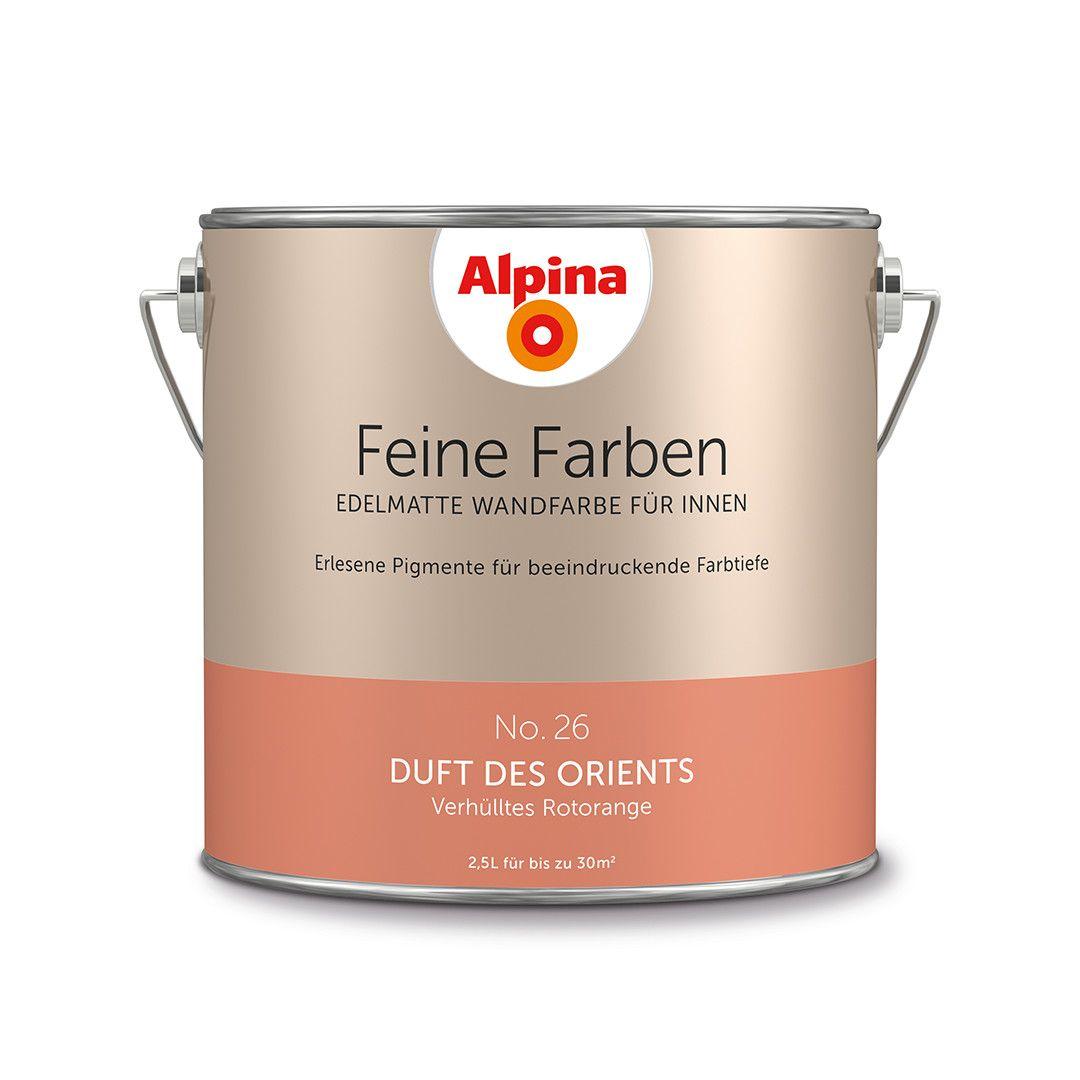 Alpina Feine Farben No 26 Duft Des Orients Design Diy Farbe