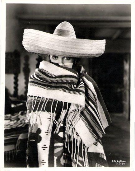 Ida Lupino | Cowboy hats, Floppy hat, Fashion
