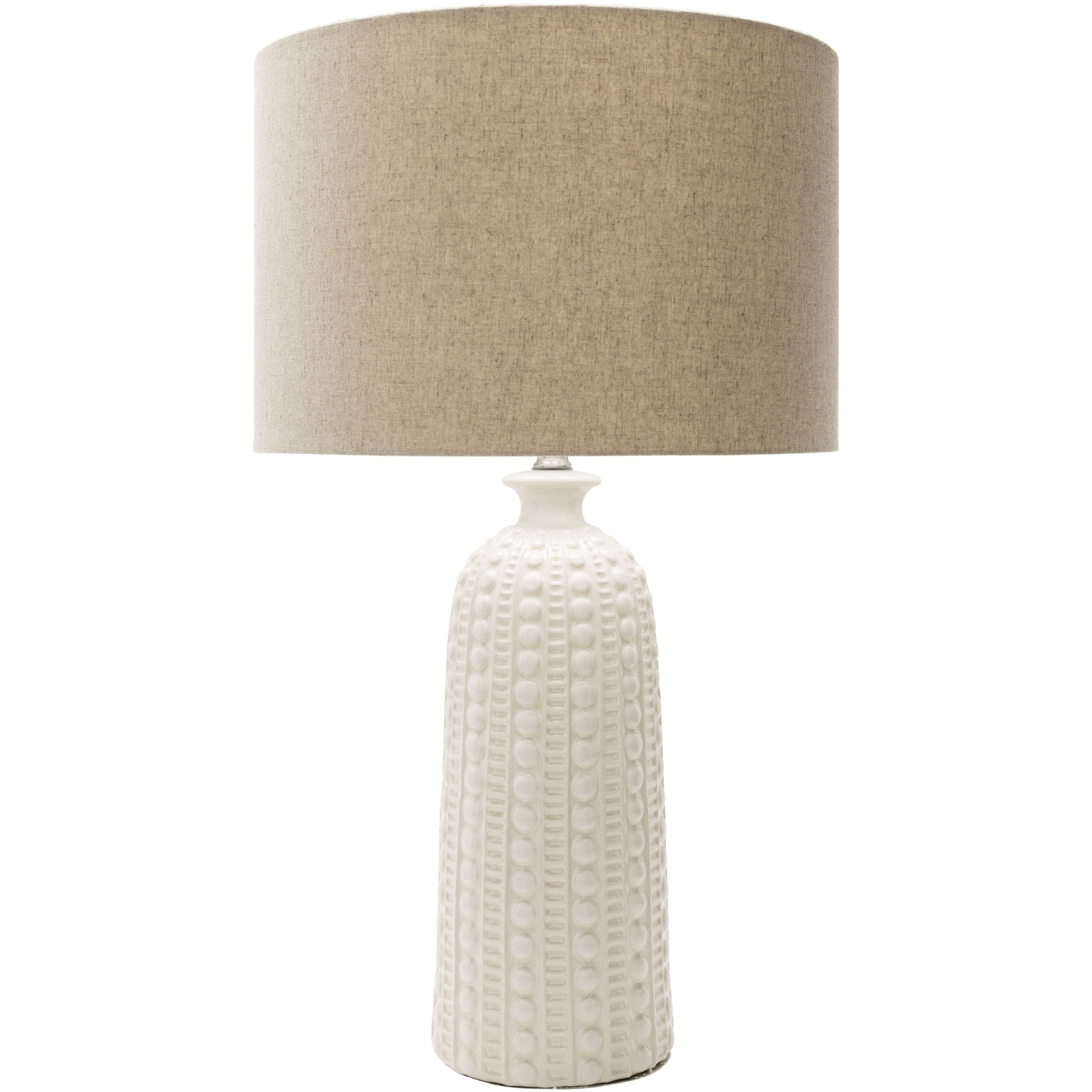 Cabot Table Lamp White With Images Table Lamp White Table