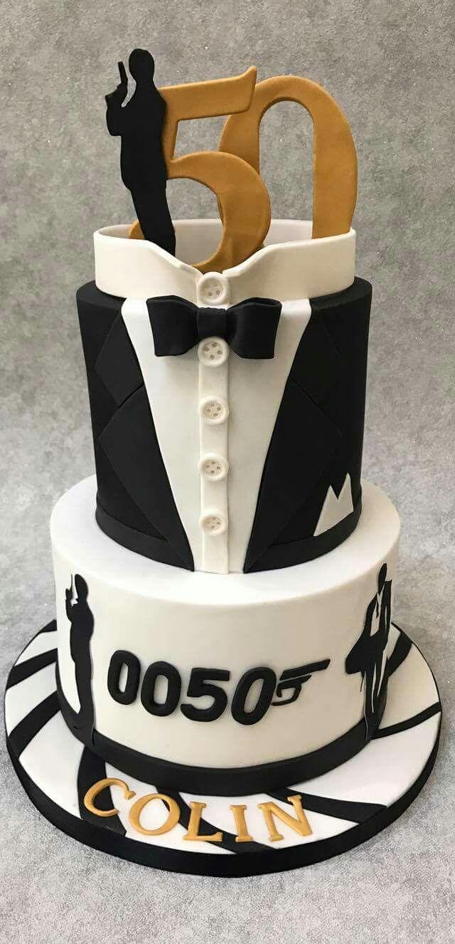 Para un super 007 50 Pinterest Cake Birthdays and Birthday cakes
