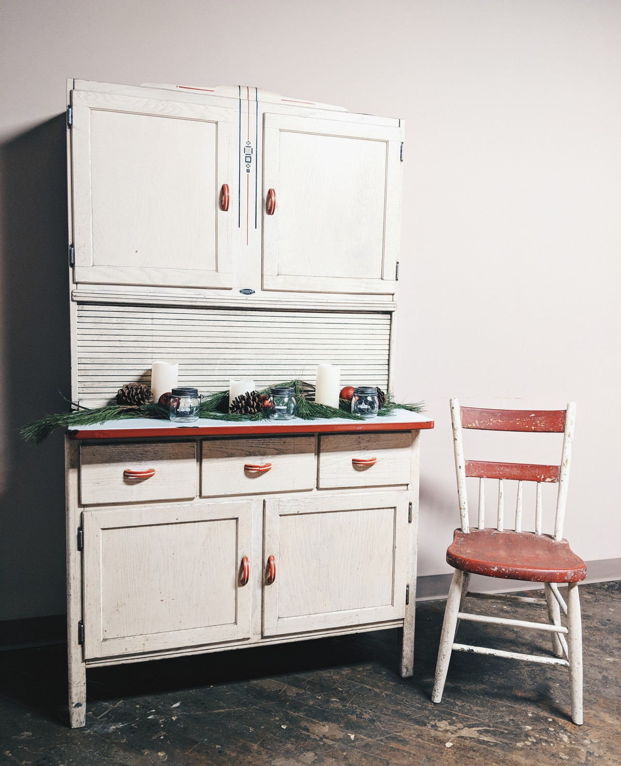 This Hoosier brand cabinet is our feature for # ...