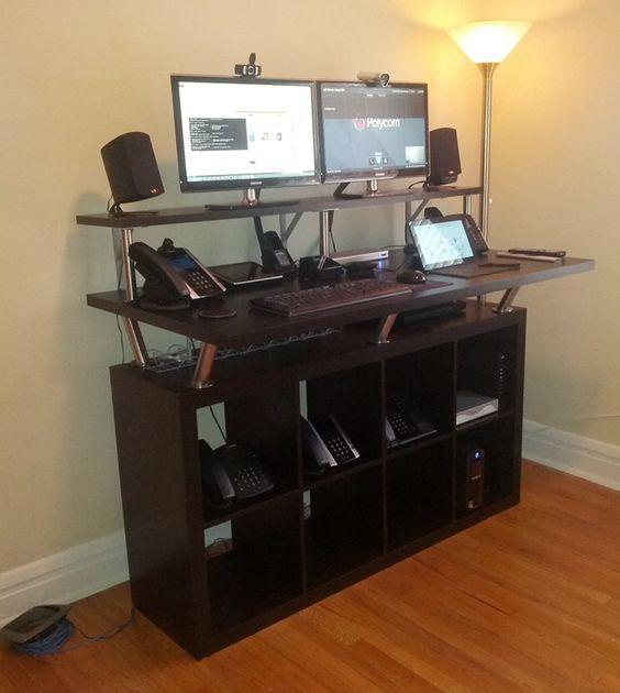 Ikea Home Office, Standing Desk