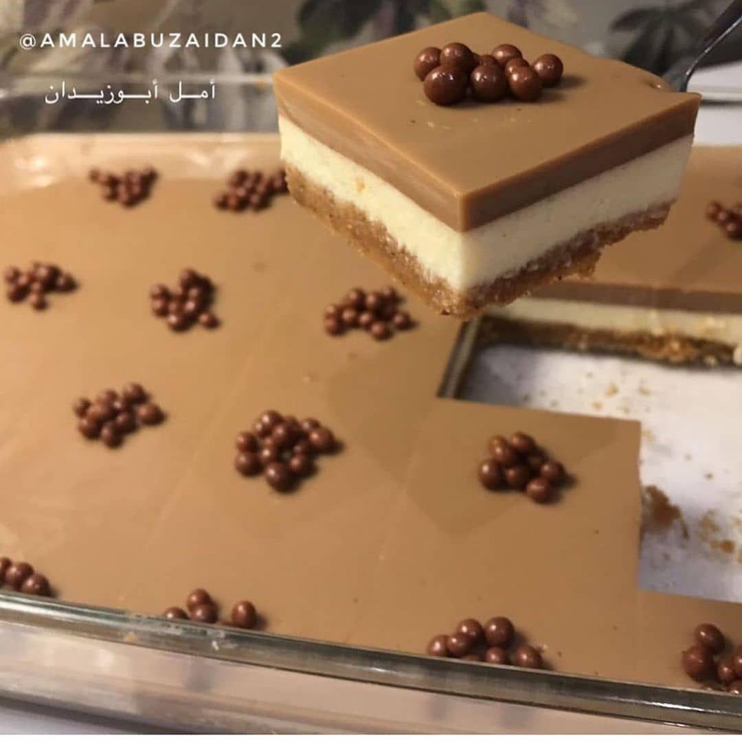 A M A N I On Instagram وصفة منقولة حلى الزبادي بالشكولاته قديم بس لزيز وفخم في التقديم شوفوا باقي ال Healthy Cheesecake Food Desserts