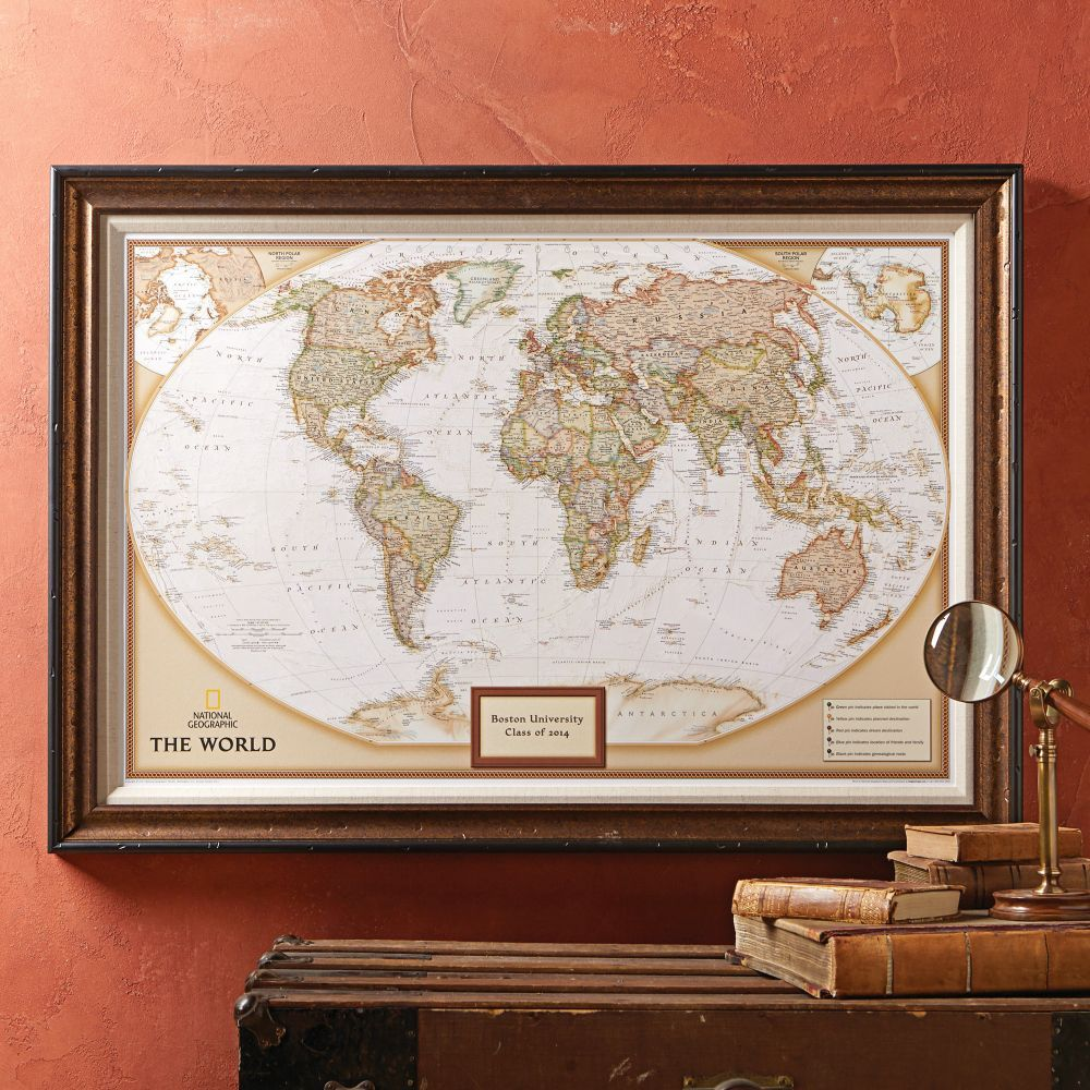 National geographic my world personalized map premium edition national geographic my world personalized map premium edition gumiabroncs Image collections