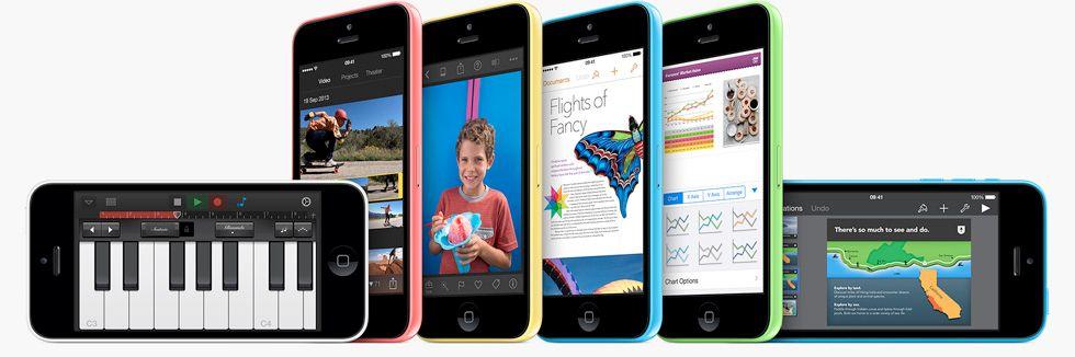 Apple Loop The Brand New iPhone 5c, The Returning iPad