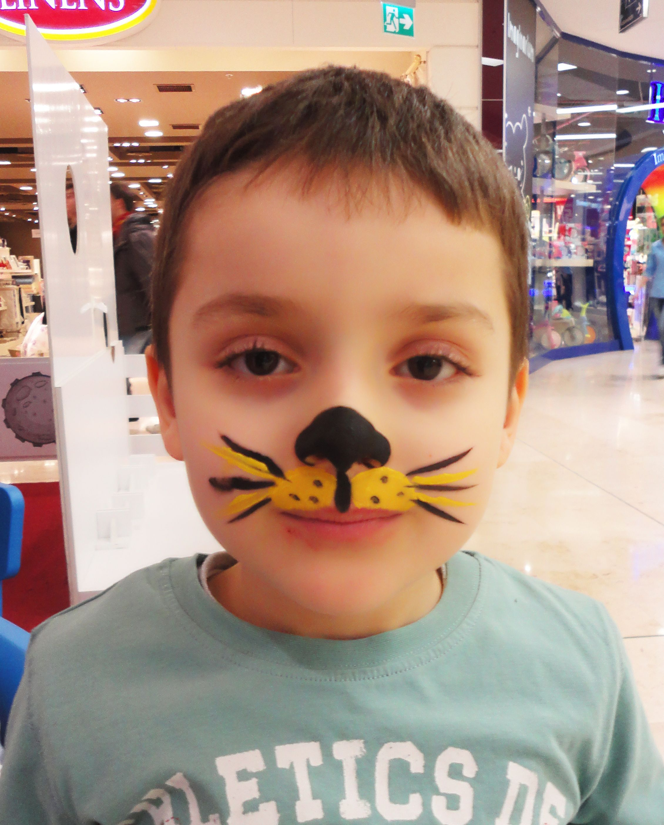 Yuz Boyama Face Painting Tiger In 2020 Face Painting Halloween Leopard Face Paint Tiger Face Paints